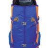 Zaino Y 30 da Alpinismo in Colore Blu Arancio con Apertura Veloce Step 1
