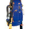 Zaino Y 30 da Alpinismo Colore Blu Arancio con Porta Sci Laterale