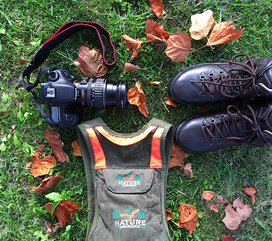 Composizione con Suede Land per lo Shooting Day Nature by Marsupio