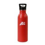 Borraccia Acciaio H2O di Colore Rosso