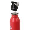 Borraccia Acciaio H2O con Tappo Svitabile