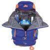 Zaino Y 30 D'Alpinismo di Colore Blu Arancio con Apertura Veloce Y , Tasche Interne e Porta Pala Sonda
