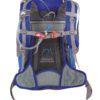 Zaino Y 30 d' Alpinismo di Colore Blu Arancio e Compatibile con Sistemi Idratazione