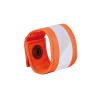 Banda Arancione Riflettente Ad Alta Visibilità Chiusura con Bottone a Pressione