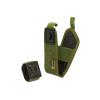 Porta Gps Suede Gps Con Velcro Removibile Per Fissaggio Allo Spallaccio