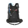 Zaino ATOS 24 4 Nero Multiuso per Tempo Libero e Trekking Compatibile con Sistema d' Idratazione