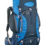Zaino NETTUNO 55 da Escursionismo Scout e Viaggi Colore Blu Azzurro
