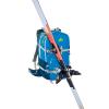 Zaino PRO LEVEL 30 Da Sci Alpinismo Colore Blu Azzurro con Porta Sci Diagonale Frontale