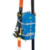 Zaino PRO LEVEL 30 Da Sci Alpinismo Colore Blu Azzurro con Porta Sci Laterali