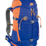 Zaino Y 30 Alpinismo Colore Blu Arancio Apertura Y
